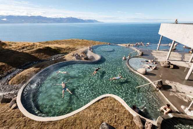 The Thermal baths Húsavik