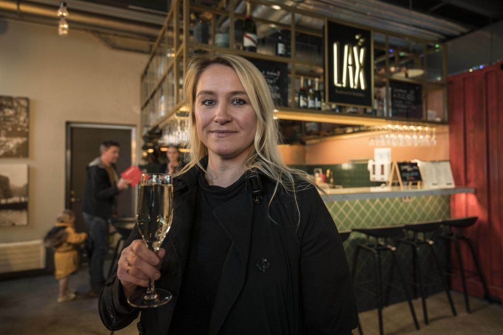 Dagbjört Hafliðadóttir owner of LAX Seafood and Bubbles restaurant