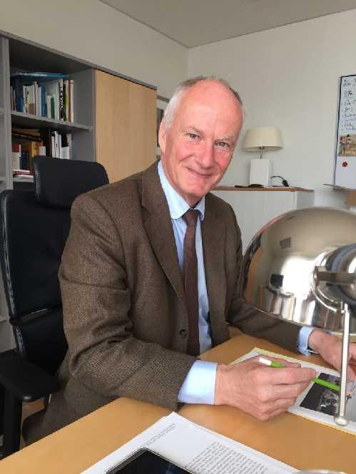 Der deutsche Botschafter auf Island Herbert Beck