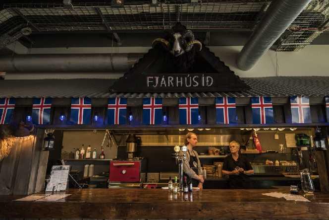 Fjárhúsið Restaurant