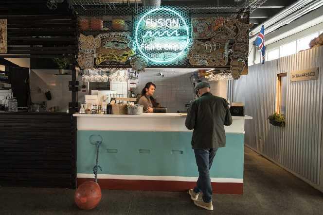 Fusion Fish & Chips Reykjavik