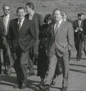 Gerhard Schröder Davíð Oddsson
