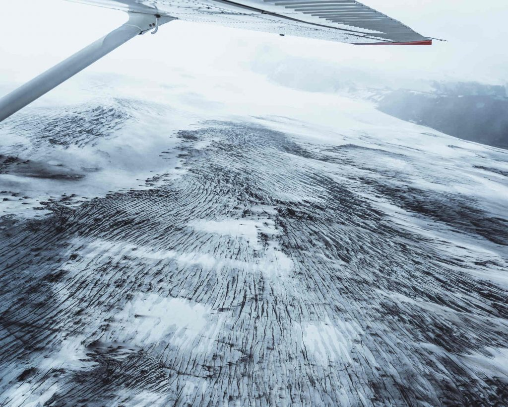 Glacier flights Iceland