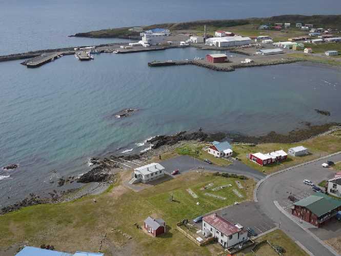 Harbor in Skagaströnd