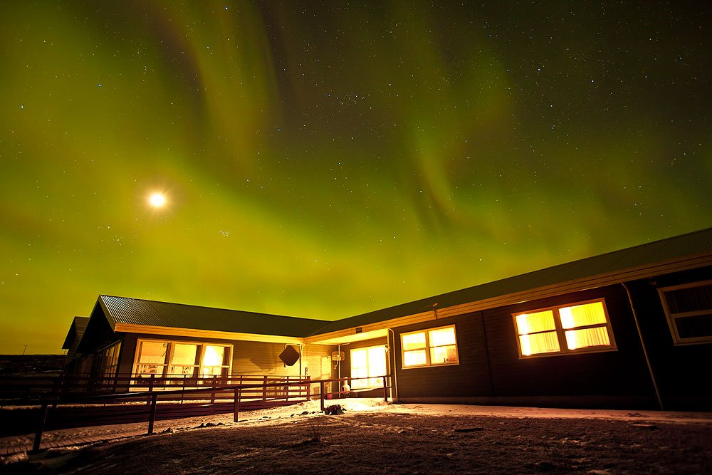 Hotel Dyrhólaey Northern Lights