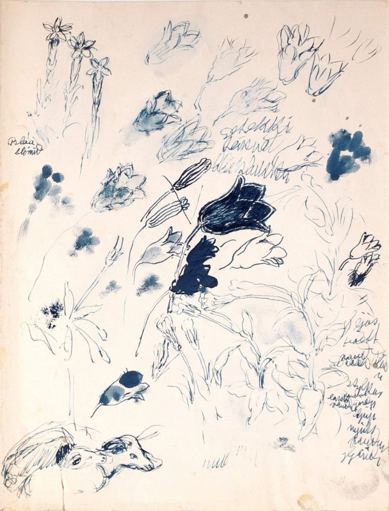 Jóhannes S. Kjarval - Can't Draw a Harebell