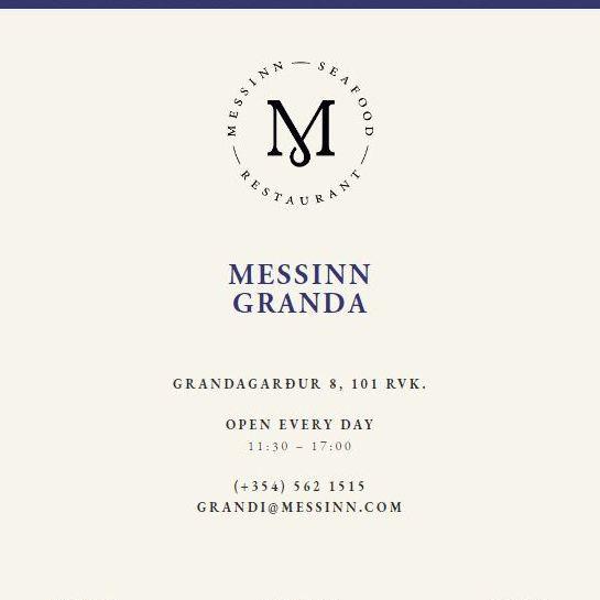 Messinn Grandi opening