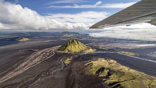 Scenic flight Skaftafell