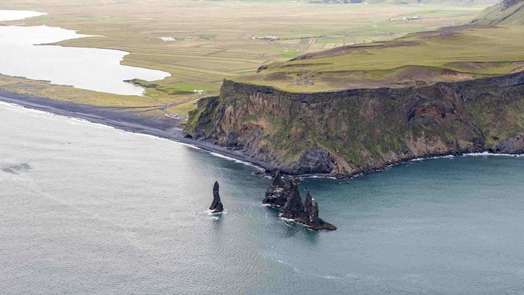 Sightseeing flights South Iceland