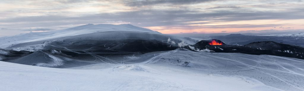 Vulkanausbruch Fimmvörðuháls