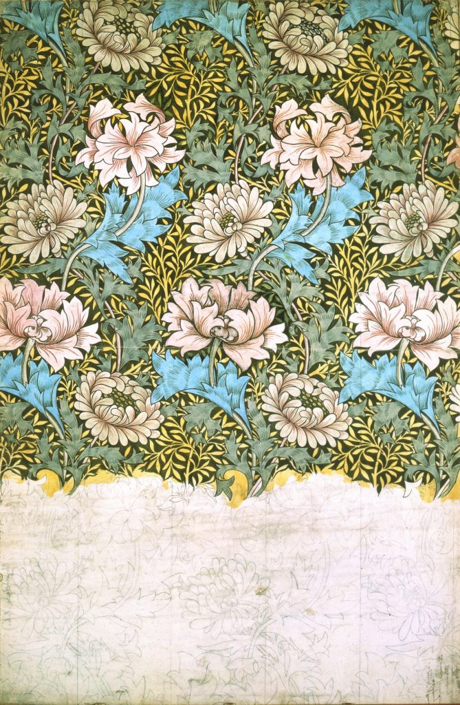 William Morris - Chrysanthemum