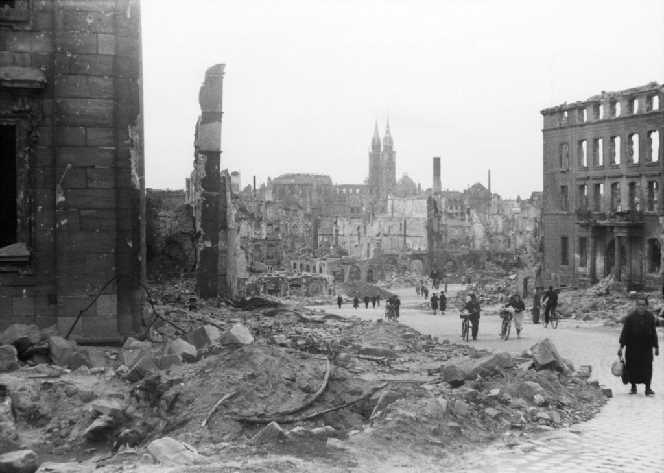 Unglaubliche Zerstörung in Deutschland
