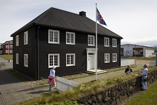 The Norwegian House - West Iceland