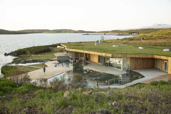 Vök Baths Geothermal bath - East Iceland