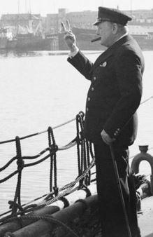 Winston Churchill in Iceland