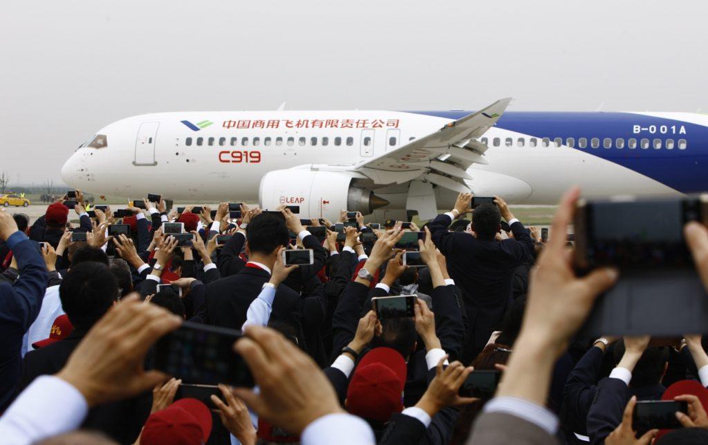 Chinese jet C919