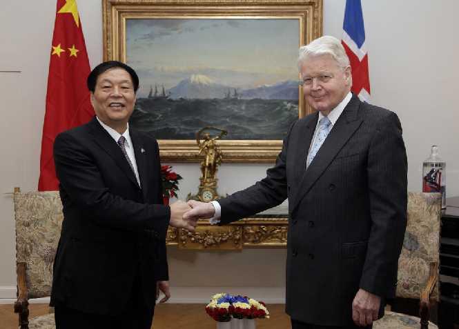 Energy deal with China - Ólafur Ragnar Grímsson
