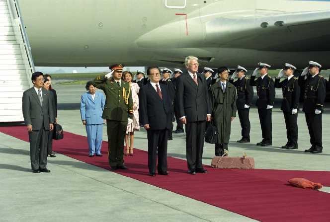 President Jiang Zemin & President Ólafur Ragnar Grímsson