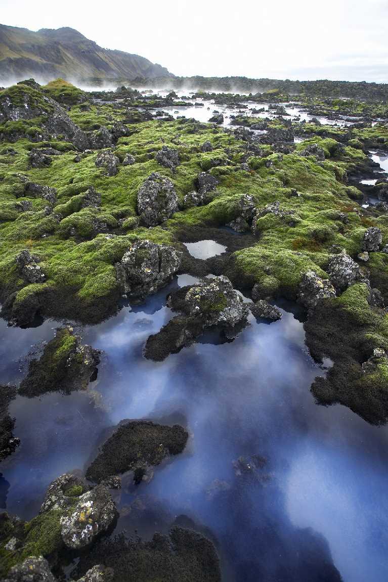 The Blue Lagoon surroundings