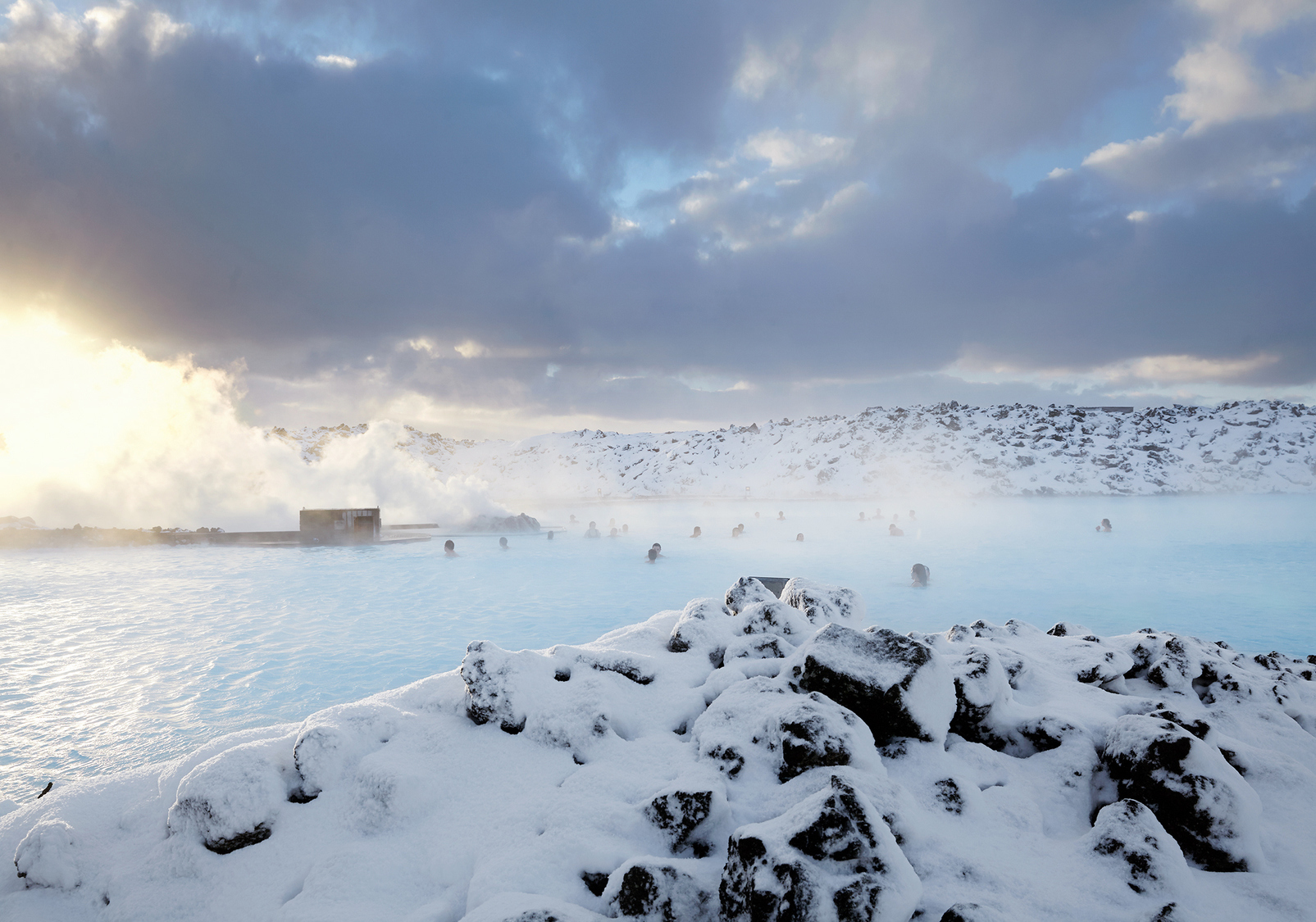 Winter in the Blue Lagoon
