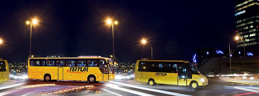 Teitur Travel Bus trips