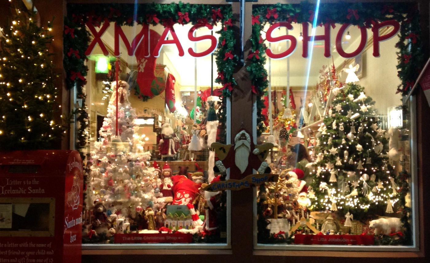 The Little Christmas store Iceland