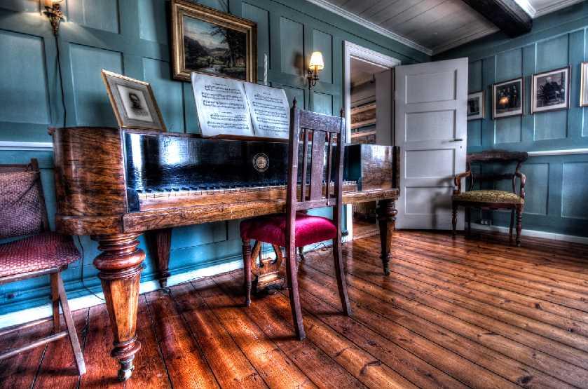 Árnesinga Folk Museum parlor