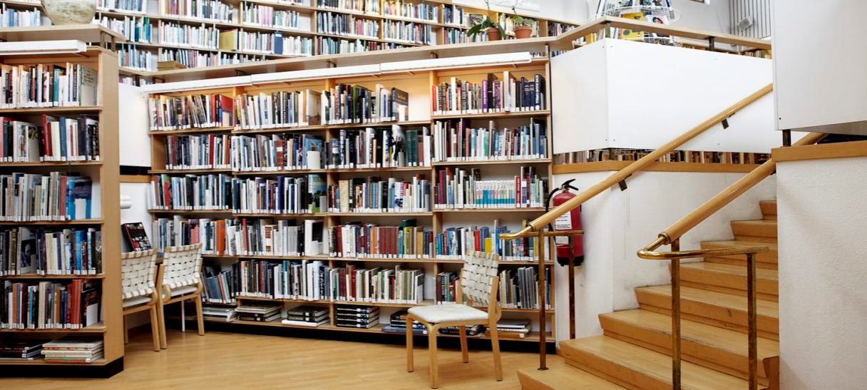 The Nordic House - Library