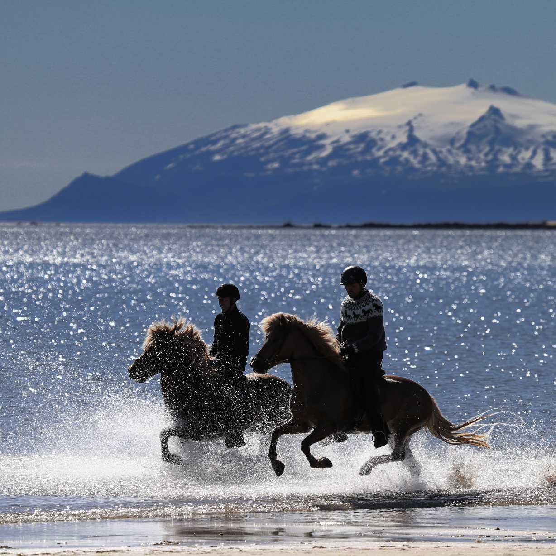 Löngufjörur og Snæfellsjökull
